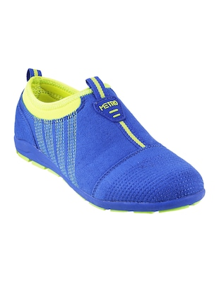 blue slip on casual shoe - 14423941 - Standard Image - 1