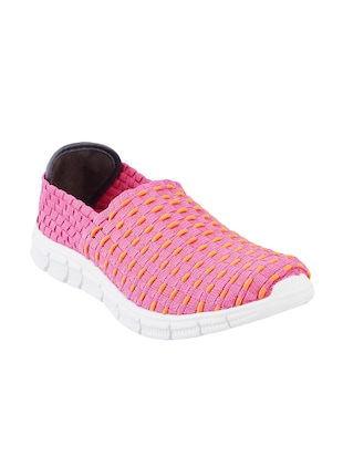 pink slip on casual shoe - 14423954 - Standard Image - 1