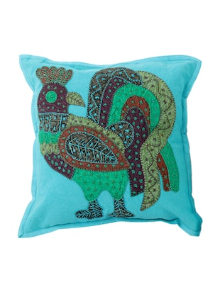 Cotton Single Rajasthani Traditional Cushion Cover By Rajrang - 14425206 - Standard Image - 1