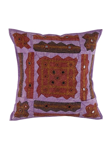 Cotton Single Rajasthani Traditional Cushion Cover By Rajrang - 14425227 - Standard Image - 1