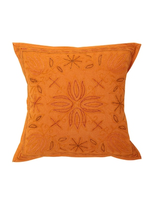Cotton Single Rajasthani Traditional Cushion Cover By Rajrang - 14425278 - Standard Image - 1