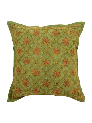 Cotton Single Rajasthani Traditional Cushion Cover By Rajrang - 14425279 - Standard Image - 1