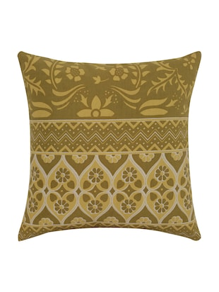 Cotton Single Rajasthani Traditional Cushion Cover By Rajrang - 14425294 - Standard Image - 1