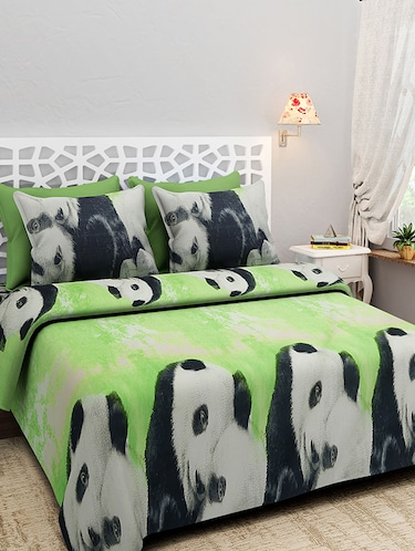100% Cotton Double Bed Sheet With 2 Pillow Covers - 14427242 - Standard Image - 1