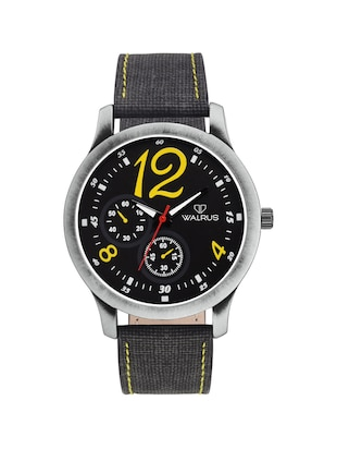 Walrus Sandrew Black Color Analog Men Watch-WWM-SDW-023434Y - 14429502 - Standard Image - 1