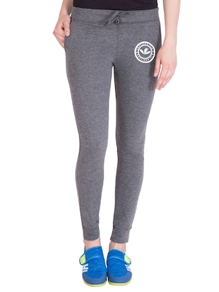 grey cotton track pants - 14432425 - Standard Image - 1