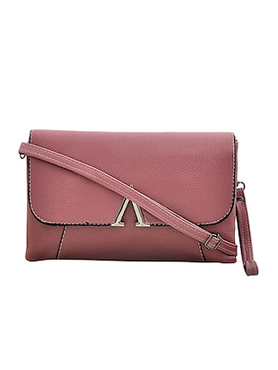 purple leatherette sling bag - 14432495 - Standard Image - 1