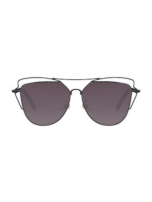 REACTR- New Arrival Brown Gradient Cat Eye HD Polarized Sunglasses For Women - 14438127 - Standard Image - 1