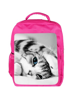pink canvas bag - 14438230 - Standard Image - 1