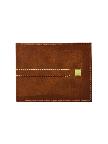 tan leather wallet - 14455461 - Standard Image - 1