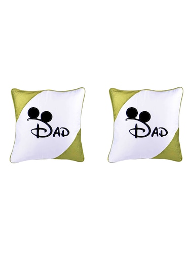 "Square Shape ""DAD print"" Printed Cushions Cover - 14458635 - Standard Image - 1"