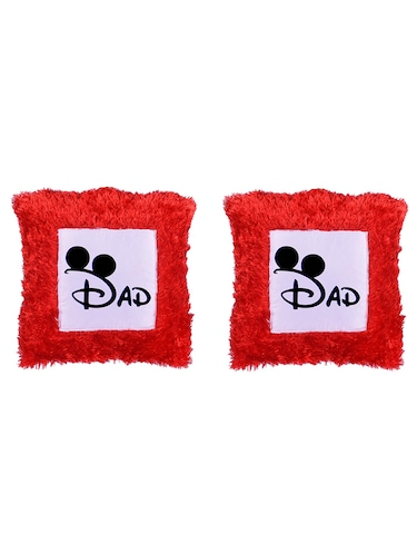 "Square Shape ""DAD print"" Printed Cushions Cover - 14458644 - Standard Image - 1"