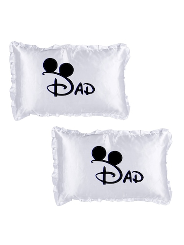 "Square Shape ""DAD print"" Printed Cushions Cover - 14458648 - Standard Image - 1"