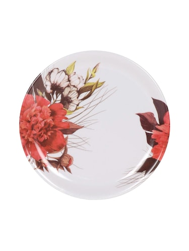 PALM'S Sunflower Pack of 6 High Quality Melamine Printed full Plate- (Food grade safe, Stain proof) - 14459651 - Standard Image - 1