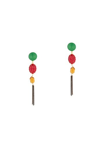 Drop earrings - 14460652 - Standard Image - 1
