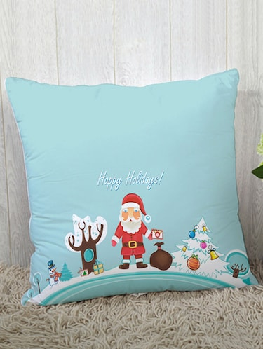 Polysilk Digitally Printed Single Cushion Covers - 14462399 - Standard Image - 1