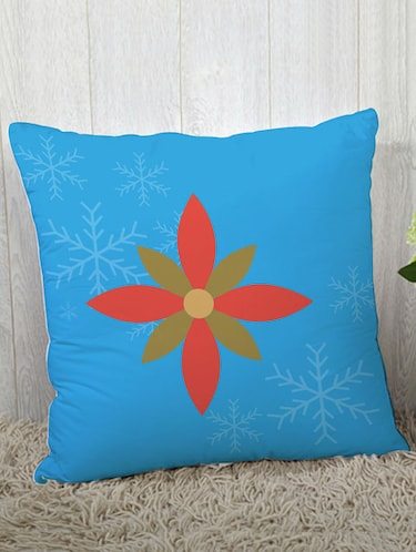 Polysilk Digitally Printed Single Cushion Covers - 14462408 - Standard Image - 1