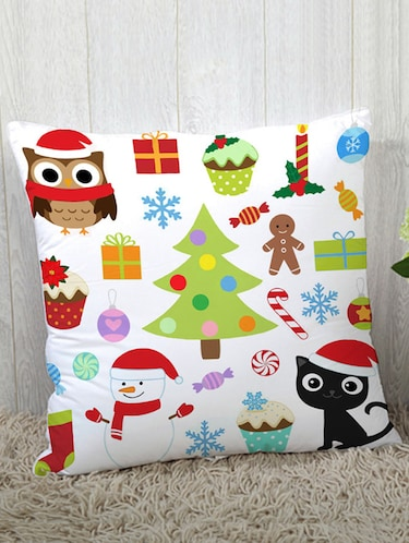 Polysilk Digitally Printed Single Cushion Covers - 14462441 - Standard Image - 1