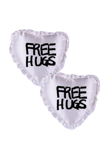 "Snoby ""Free Hugs"" Quoted Printed Cusion Cover - 14463598 - Standard Image - 1"