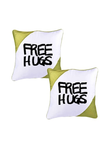 "Snoby ""Free Hugs"" Quoted Printed Cusion Cover - 14463600 - Standard Image - 1"
