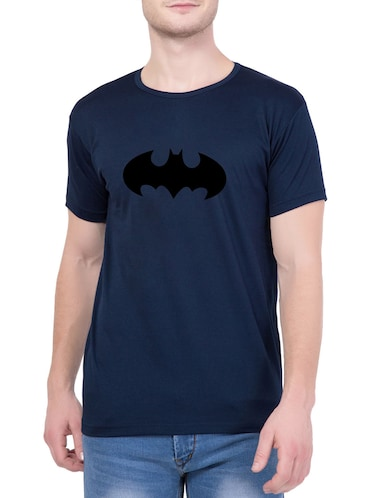 navy blue cotton character t-shirt - 14467309 - Standard Image - 1