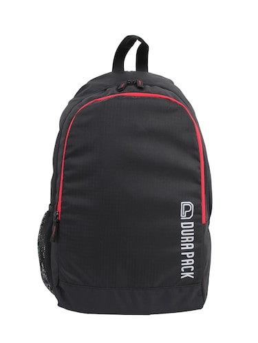 Durapack Metro Uno Black,Red Casual Backpack - 14468636 - Standard Image - 1