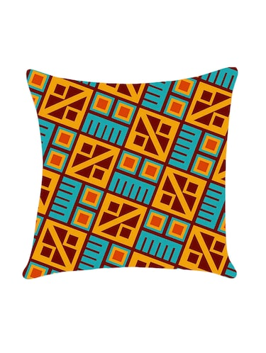 Geometric print cushion cover by Ambbi Collections - 14472289 - Standard Image - 1