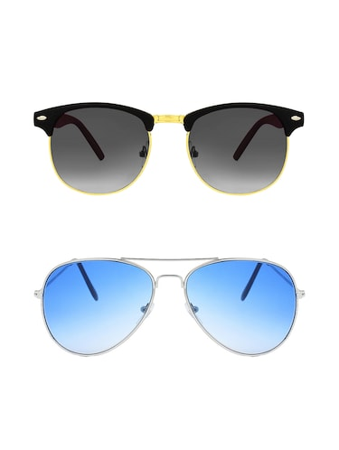 Abner Combo of two sunglasses - 14480626 - Standard Image - 1