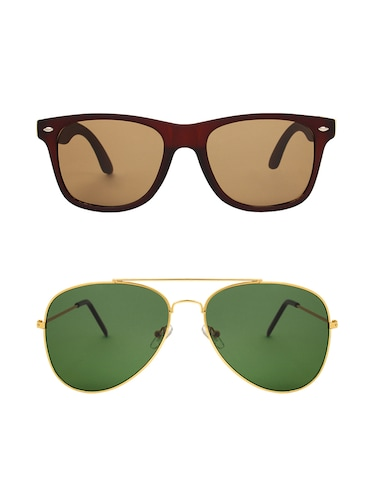Abner Combo of two sunglasses - 14480653 - Standard Image - 1