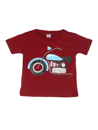 red cotton tshirt - 14483886 - Standard Image - 1