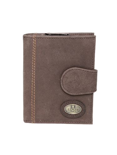 brown leather wallet - 14484638 - Standard Image - 1