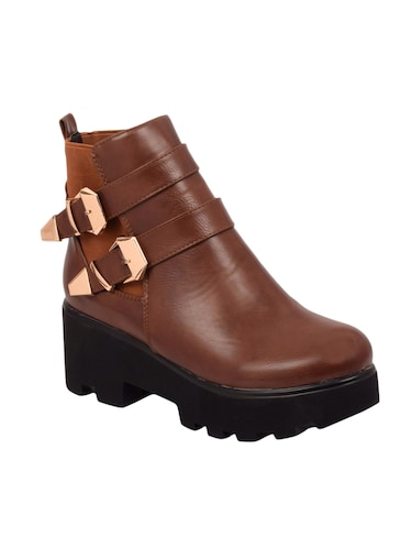 brown ankle  boot - 14494230 - Standard Image - 1