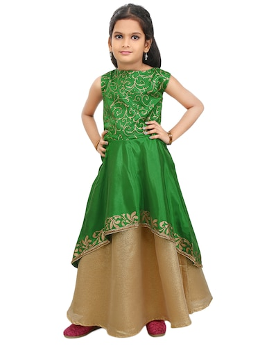 green polyester suit set - 14494557 - Standard Image - 1