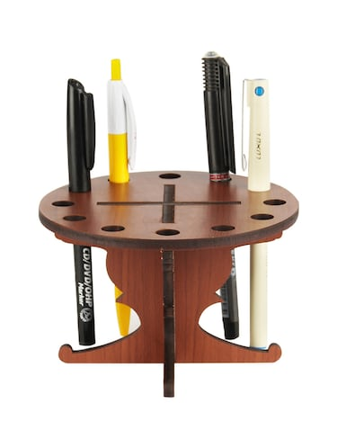 Sehaz Artworks Round-Table-Pen Stand - 14498166 - Standard Image - 1