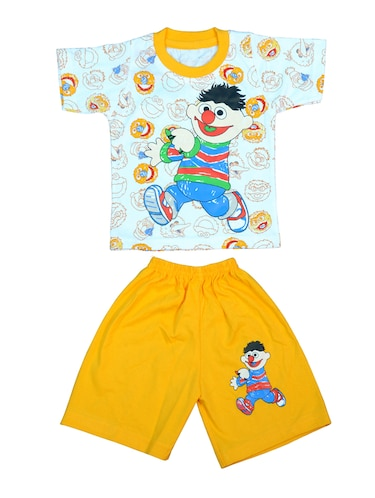 yellow cotton twin sets - 14498669 - Standard Image - 1