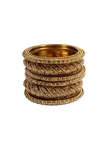 multi metal bangle - 14501019 - Standard Image - 1
