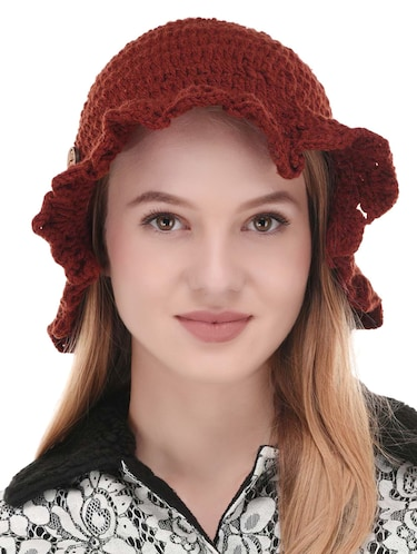 red cotton cap - 14502393 - Standard Image - 1