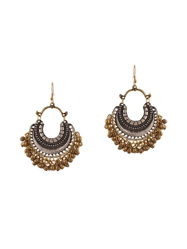 multi metal other earring - 14502797 - Standard Image - 1