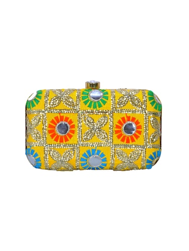 multi polyester box clutch - 14503981 - Standard Image - 1