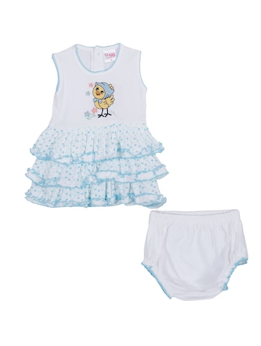blue cotton twin set - 14504347 - Standard Image - 1