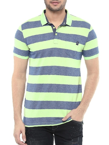 blue cotton t-shirt - 14504823 - Standard Image - 1