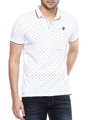 white cotton t-shirt - 14504935 - Standard Image - 1