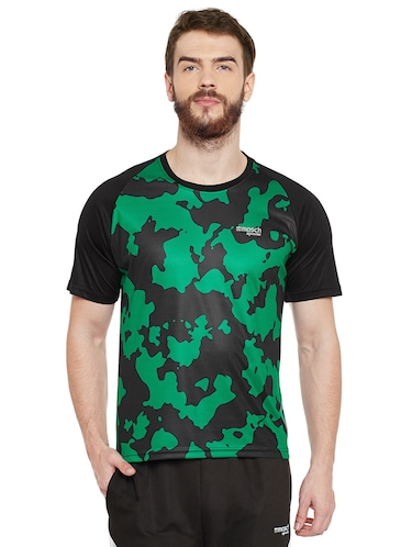 green polyester tshirt - 14505895 - Standard Image - 1