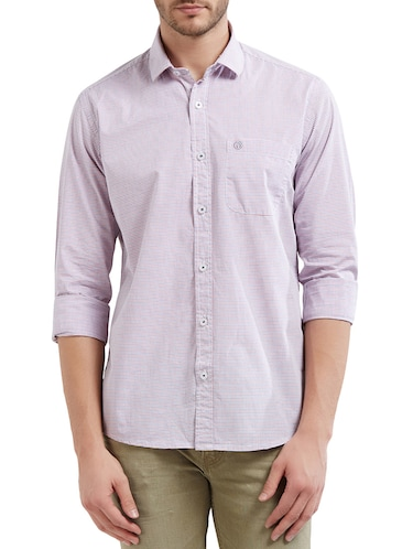 multi cotton casual shirt - 14525681 - Standard Image - 1