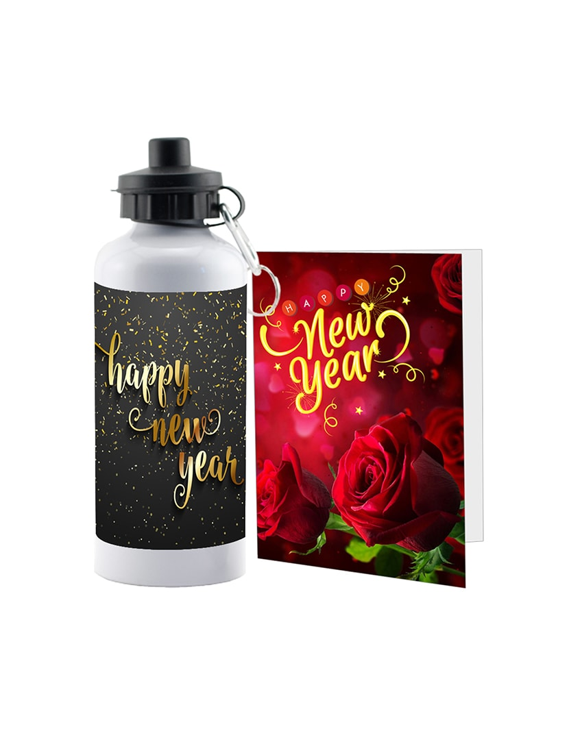 lof special red moment new year surprise gifts for girlfriend boyfriend wish gift white greeting card
