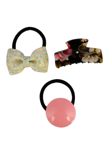 THE ETHNIC WEARS Plastic Hair Clip for Women - Set of 3 (HCC-0018) - 14528756 - Standard Image - 1