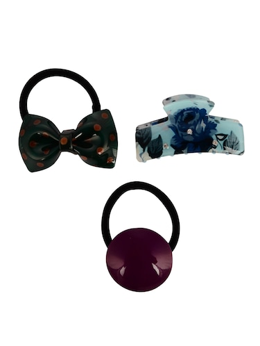THE ETHNIC WEARS Plastic Hair Clip for Women - Set of 3 (HCC-0019) - 14528757 - Standard Image - 1