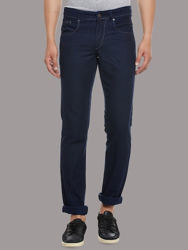 blue denim plain jeans - 14530310 - Standard Image - 1