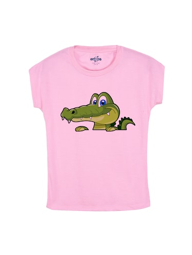 pink cotton tee - 14530513 - Standard Image - 1