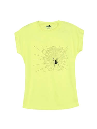 yellow cotton t-shirt - 14530626 - Standard Image - 1